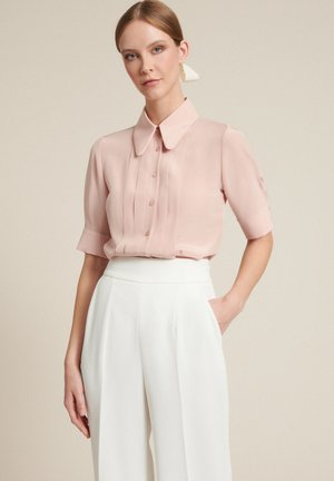 BACINO       - Button-down blouse - rosa