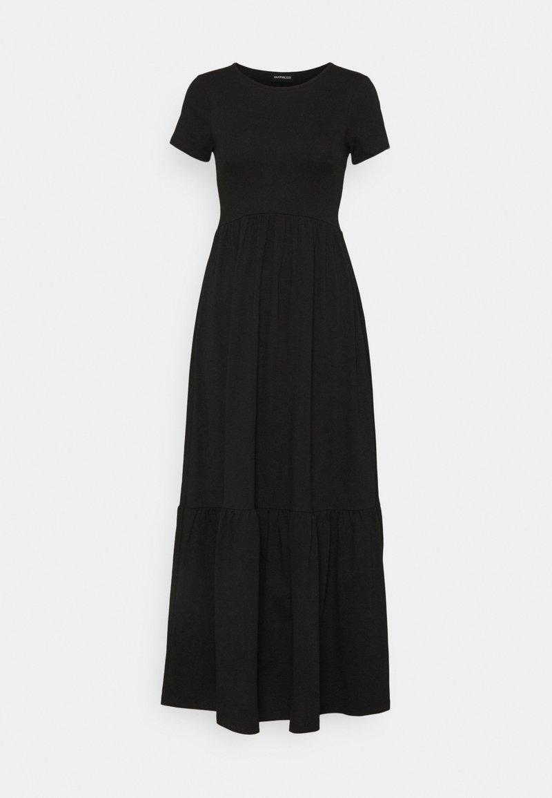 Even&Odd - Vestito lungo - black