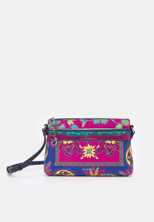 BOLS BOHO DURBAN - Across body bag - turquoise