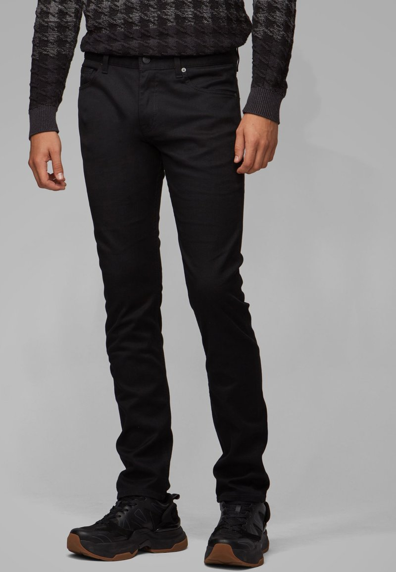 BOSS - DELAWARE  - Slim fit jeans - black