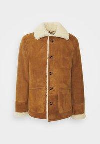 Schott - ARKANSOS - Leather jacket - rust - 4
