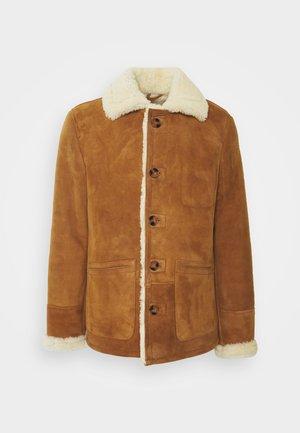ARKANSOS - Kožená bunda - rust