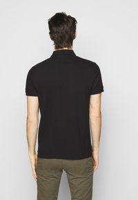 Polo Ralph Lauren - CUSTOM SLIM FIT TRIPLE-PONY POLO SHIRT - Koszulka polo - black - 2