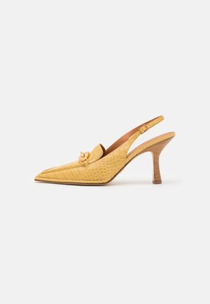 JESSA POINTY TOE SLINGBACK - Klasické lodičky - light yellow