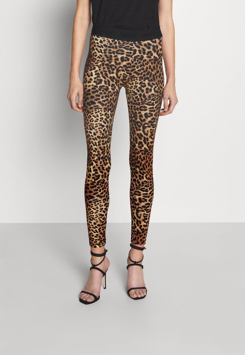 HUGO - NACARA - Leggings - Trousers - open miscellaneous