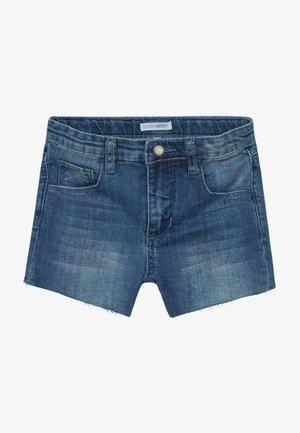 SMALL GIRLS  - Denim shorts - dark blue