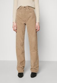 Topshop - RUNWAY - Relaxed fit jeans - taupe - 0