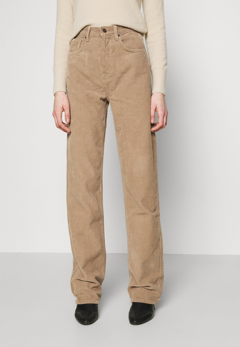 Topshop - RUNWAY - Relaxed fit jeans - taupe