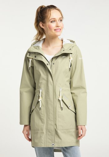 Waterproof jacket - pastelloliv