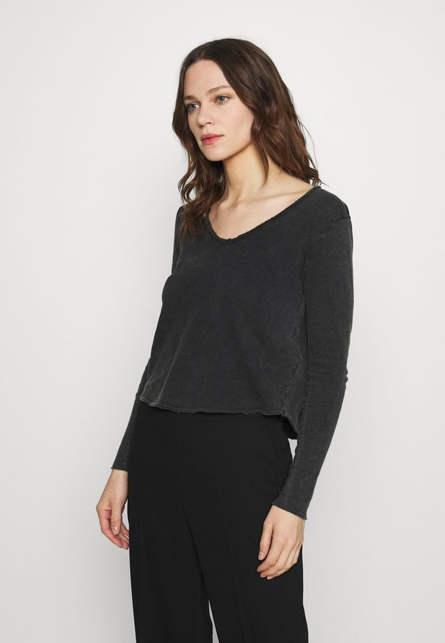 SONOMA - T-shirt à manches longues - noir vintage