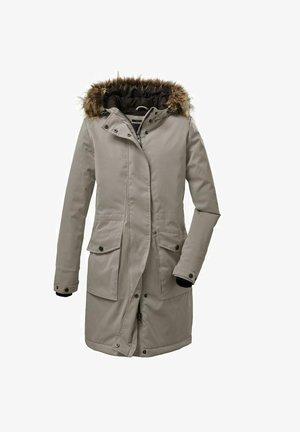 MIT KAPUZE - Winter coat - beige