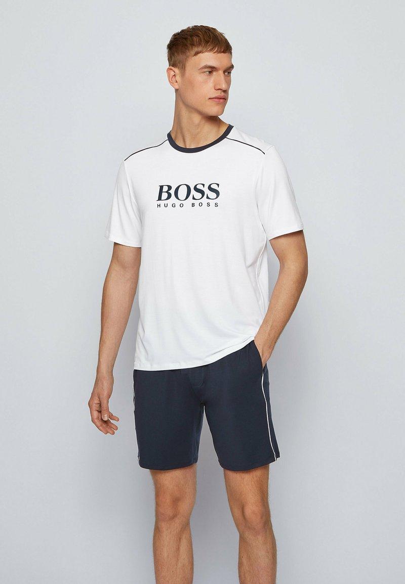 BOSS - REFINED - Pyjama set - dark blue
