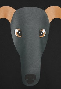 Trussardi - BRUSHED FLEECE REGU - Sweatshirt - black - 2