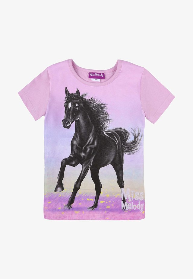 T-shirt con stampa - orchid bouquet