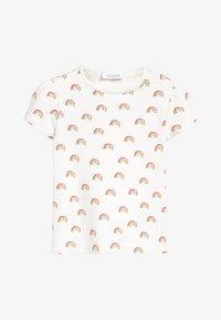Next - 3 PACK FLAMINGO TOPS - Print T-shirt - off-white - 1