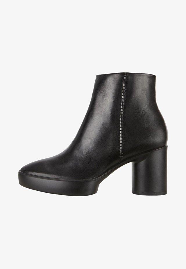 SHAPE SCULPTED MOTION - Korte laarzen - black