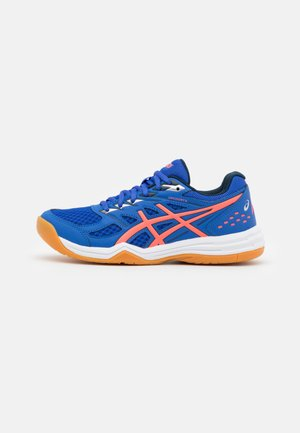 UPCOURT  - Volleyball shoes - lapis lazuli blue/blazing coral