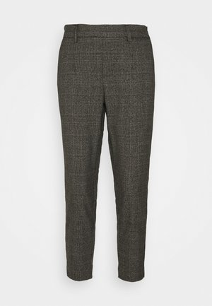 OBJLISA SLIM PANT - Trousers - chipmunk/white