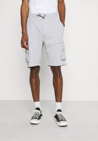 Solid - Shorts - light grey melange - 0