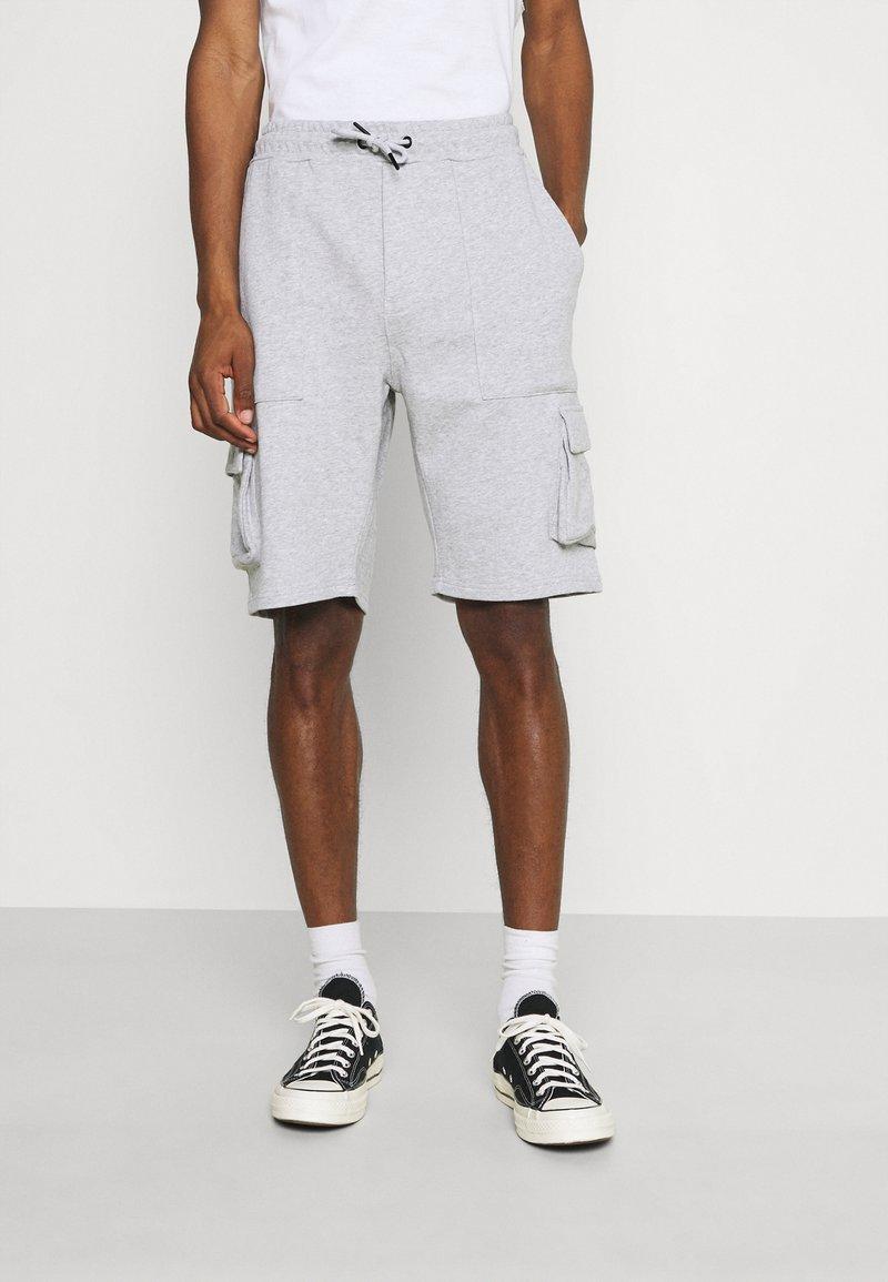 Solid - Shorts - light grey melange