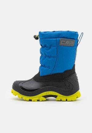 KIDS HANKI 2.0 - Winter boots - river/lime green