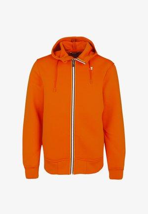RAINER SPACER - Zip-up hoodie - orange rust