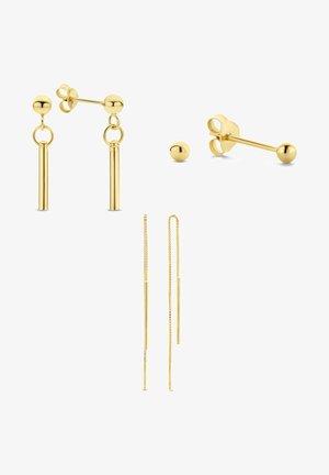 3-PACK - Earrings - gold