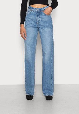 CUT OUT STRAIGHT - Straight leg jeans - light blue