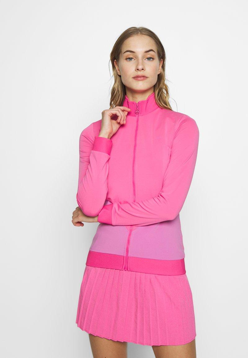 J.LINDEBERG - LIZA LIGHT MID - Sportovní bunda - pop pink