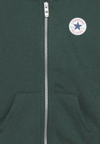 Converse - CHUCK PATCH FULL ZIP HOODIE  - Zip-up hoodie - faded spruce - 2