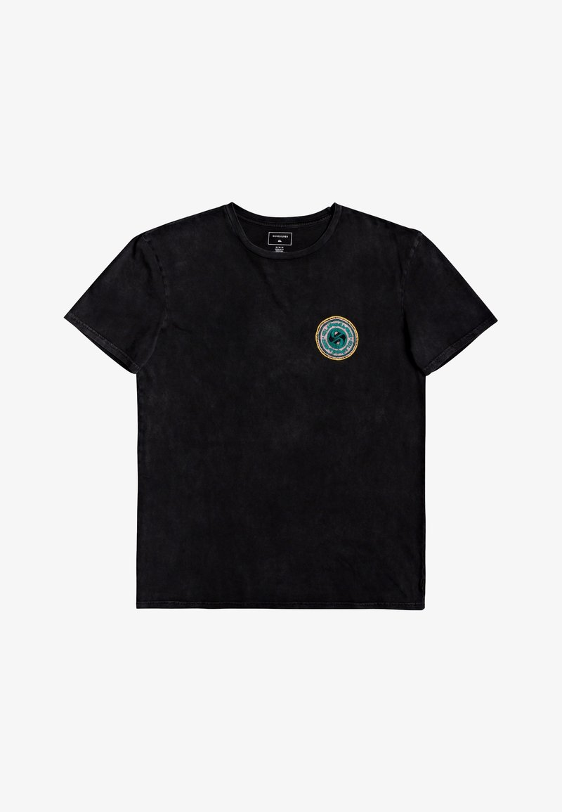 Quiksilver - Print T-shirt - black