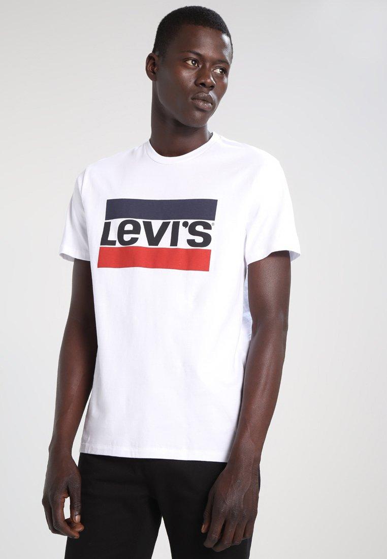 Levi's® - SPORTSWEAR LOGO TEE - T-shirt med print - white
