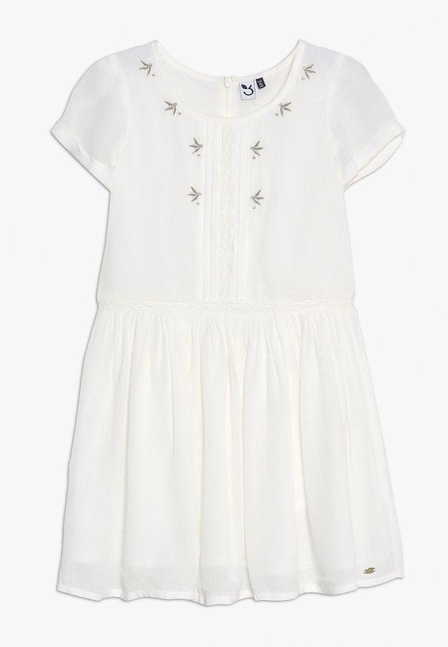 DRESS MANCHES - Vapaa-ajan mekko - broken white