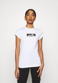 Ellesse - OMBRA - T-shirts print - white - 0