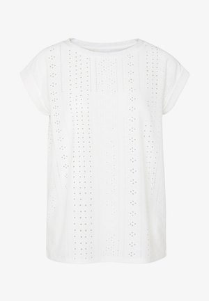 BLOND TEE - Printtipaita - off white