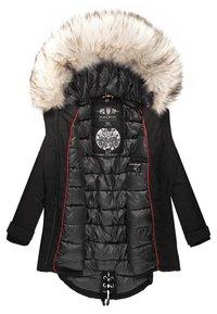 Navahoo - WINTERMANTEL LADY LIKE - Winter coat - black - 4
