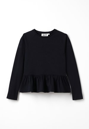 RENATA - Long sleeved top - black