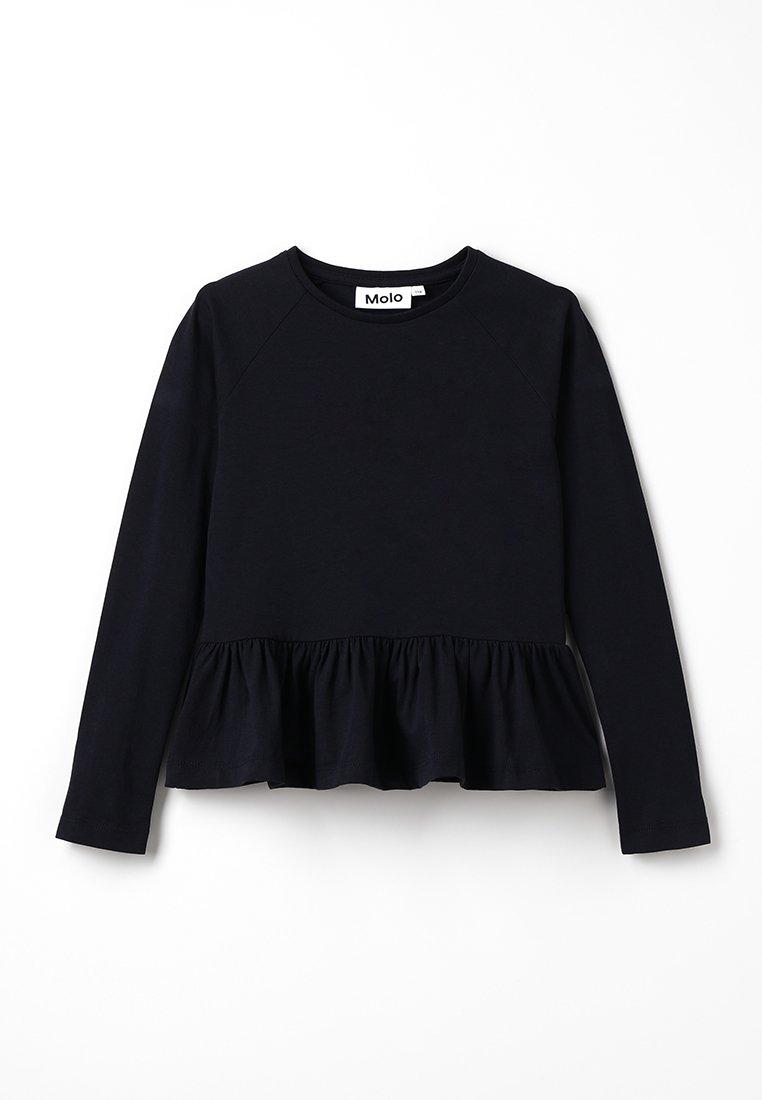 Molo - RENATA - Top sdlouhým rukávem - black