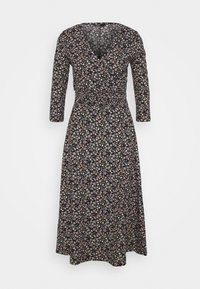 ONLY - ONLZILLE NAYA 3/4 DRESS - Denní šaty - black - 0