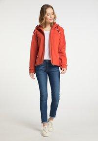 DreiMaster - Soft shell jacket - orange rot - 1