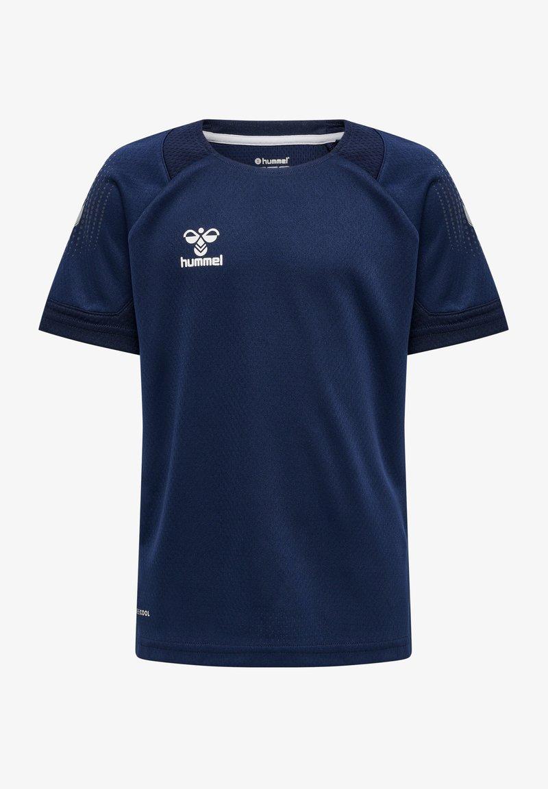 Hummel - Print T-shirt - marine