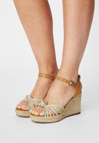 Pepe Jeans - MAIDA COLORS - Platform sandals - multi - 0