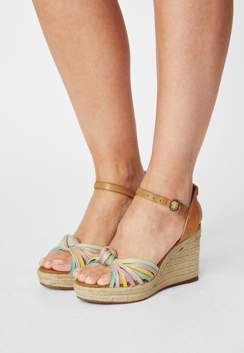 Pepe Jeans - MAIDA COLORS - Platform sandals - multi