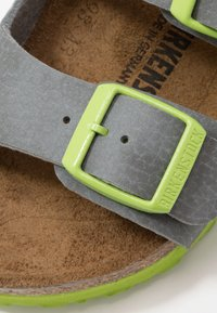 Birkenstock - MILANO - Sandals - grey/green - 2