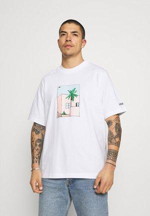 HAND DRAWN TEE - T-shirt imprimé - white