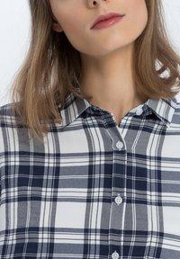 Cross Jeans - Button-down blouse - navy - 3