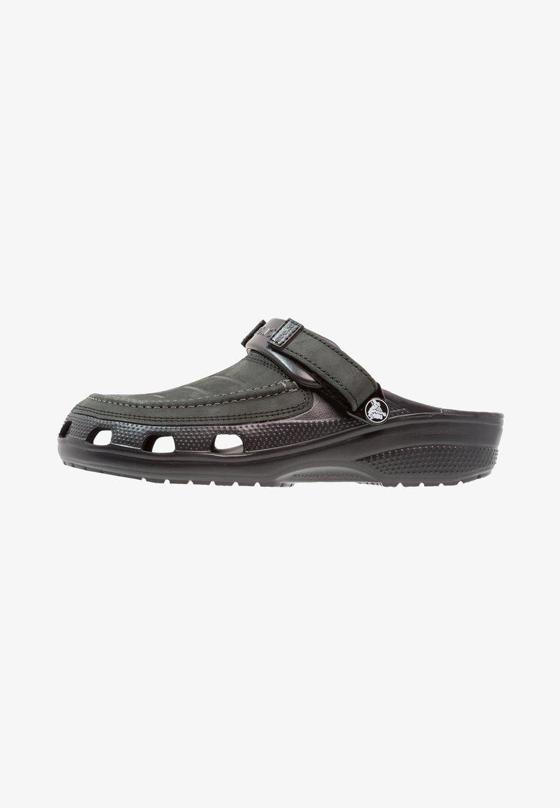 Crocs - YUKON VISTA - Sandały kąpielowe - black