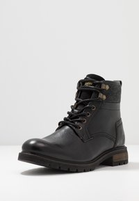 Pantofola d'Oro - LEVICO UOMO HIGH - Lace-up ankle boots - black - 2