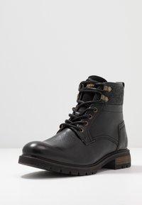 Pantofola d'Oro - LEVICO UOMO HIGH - Veterboots - black - 2