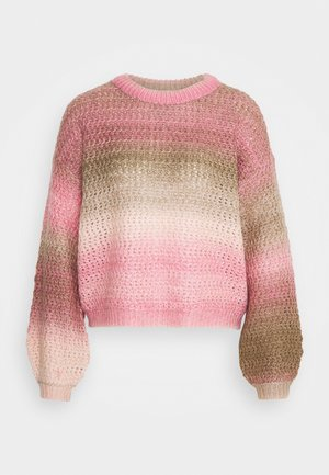 VMDATTESPACE O NECK BOO - Jumper - wild rose/sepia